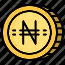 business, cash, coin, money, naira icon