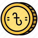 business, cash, coin, money, rupee icon