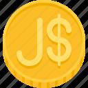 dollar, jamaica dollar