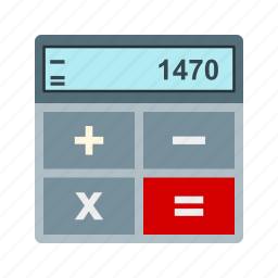 bank, business, calculation, currency, money, profit icon
