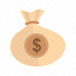 bag, business, cash, dollar, finance, money, sack icon