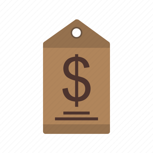 currency, dollar, finance, label, money, price, tag icon