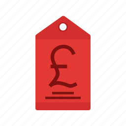 currency, finance, label, money, pound, price, tag icon