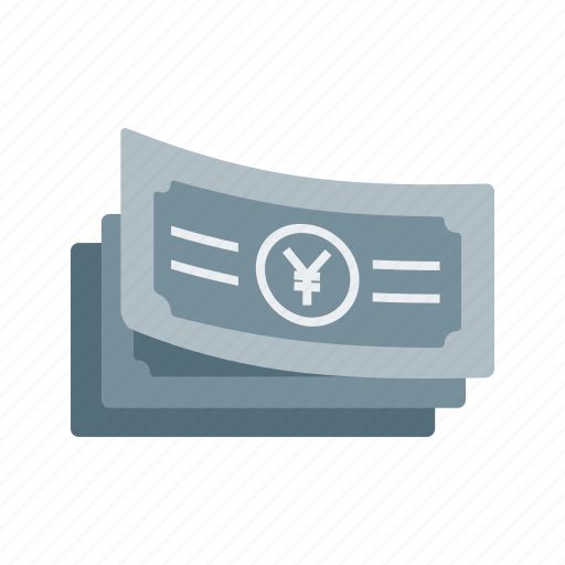 business, cash, currency, money, wealth, yen icon