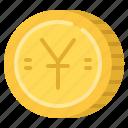 business, cash, coin, money, yuan icon