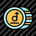 business, dong, finance, international, money, token, vietnam