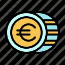 business, euro, finance, france, international, money, token