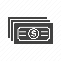 business, cash, currency, dollar, finance, money, paper icon