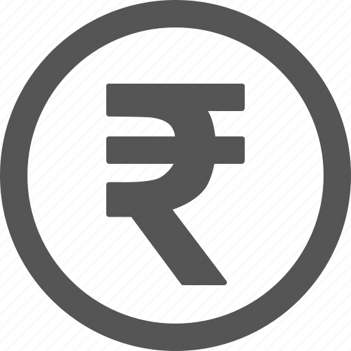 currency, money, rupee, rupie icon