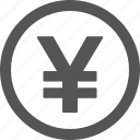 currency, money, yen icon
