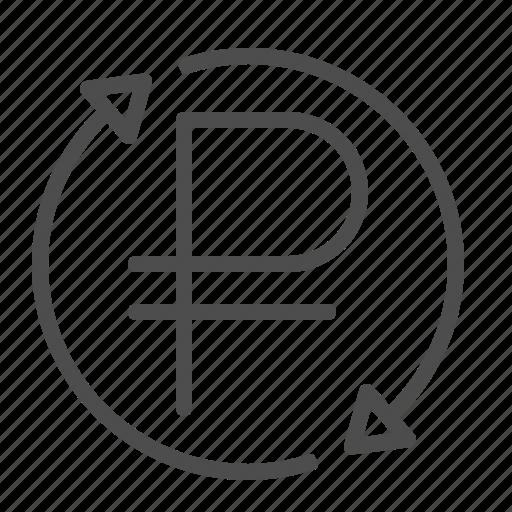 rouble, ruble icon