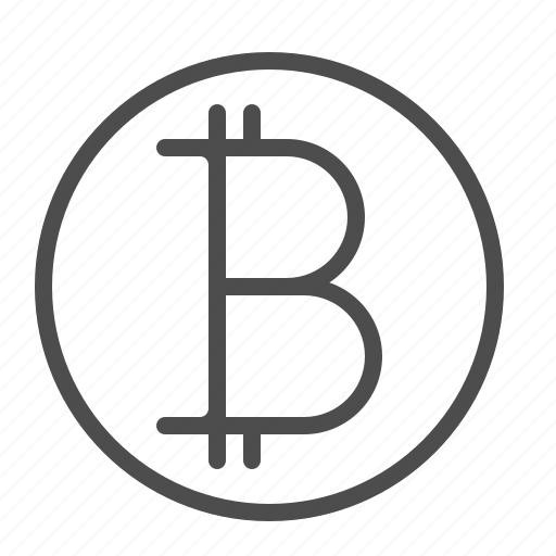 bitcoin, currency, online, virtual icon