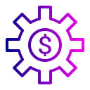 currency, dollar, finance, money, setting, sign icon