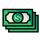 account, currency, dollar, money icon