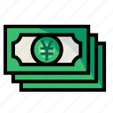account, currency, money, yen icon