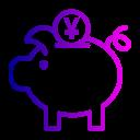 bank, coin, currency, finance, piggy, savings, yuan icon
