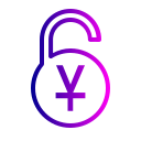 currency, lock, safe, yuan icon