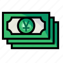 account, currency, money, yuan icon