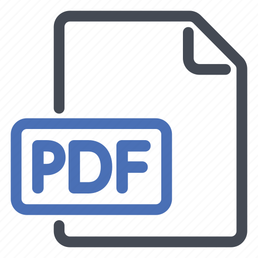 adobe, document, extension, file, format, pdf, reader icon