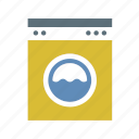 applience, home, households, laundry, machine, washing icon