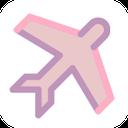 plane, airplane, flight, travel icon