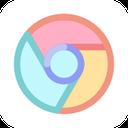 google, web, chrome, browser icon
