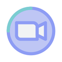 meeting, zoom, call, video icon