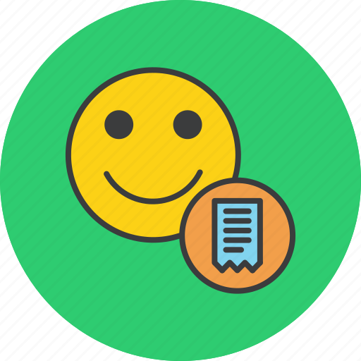 account, bill, customer, employee, invoice, statement, user icon
