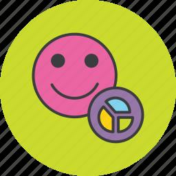 account, analysis, chart, employee, report, statistics, user icon