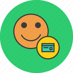 banking, card, credit, debit, details, payment, user icon