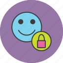 access, account, employee, lock, permission, restrict, user icon