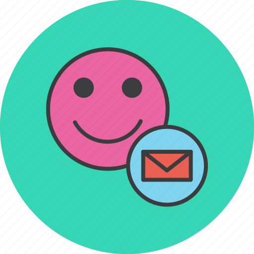 account, communication, employee, letter, mail, message, user icon
