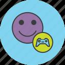 account, customer, gamer, gaming, joystick, profile, user icon