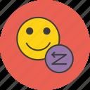 account, backward, demote, employee, reverse, status, user icon