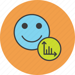 account, analysis, customer, employee, graph, stats, user icon