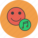 account, audio, customer, listen, multimedia, music, user icon