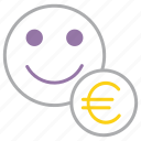 account, employee, euro, european, region, union, user icon