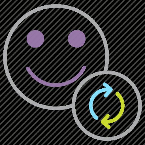 account, details, employee, modify, refresh, update, user icon