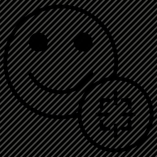 account, customer, focus, profile, target, user, zoom icon