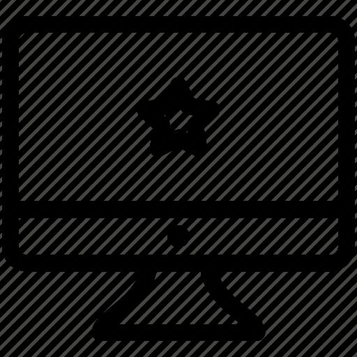 Rating, rate, star, feedback, software feedback icon