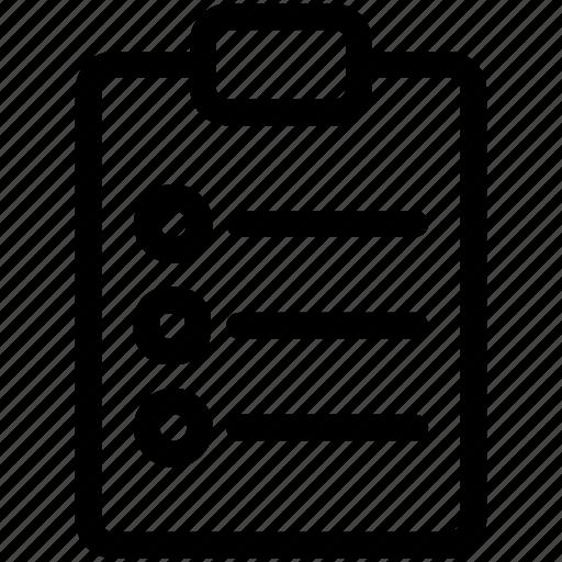 checklist, form, poll, survey icon