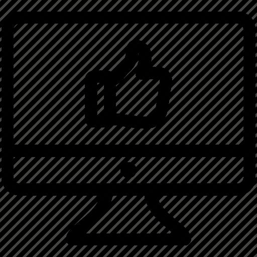 feedback, good feedback, like, love, thumb up icon