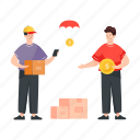 logistics delivery, cash on delivery, cod, delivery service, delivery payment