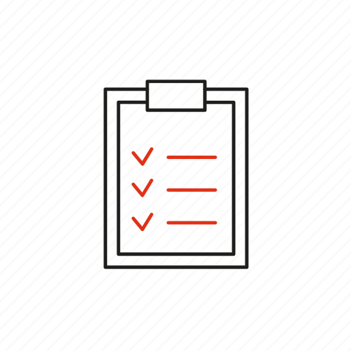 implementation, list, order, require, schedule icon