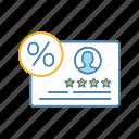 client, customer, feedback, loyalty program, percent, percentage, satisfaction rate