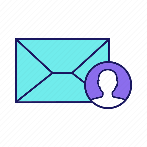 Email, letter, marketing, mass mailing, post, target, targeted icon - Download on Iconfinder