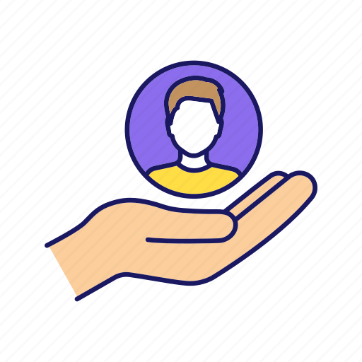 Care, employment, hand, human resource, loyalty, offer, recruitment icon - Download on Iconfinder