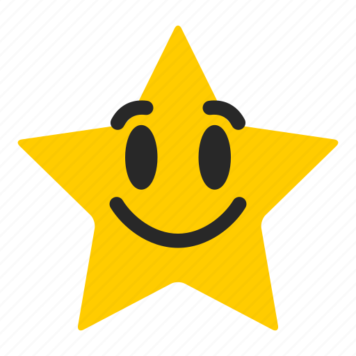 awesome, emoji, emoticon, excellent, rating, satisfaction, star icon