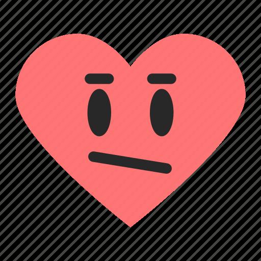 average, emoji, emoticon, good, heart, rating, satisfaction icon
