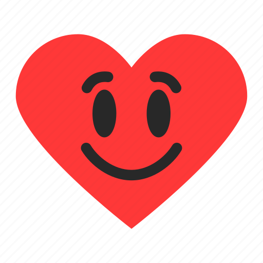 awesome, emoji, emoticon, excellent, heart, rating, satisfaction icon